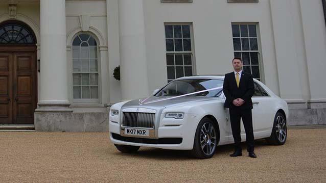 Rolls-Royce Ghost Series II wedding car for hire in London