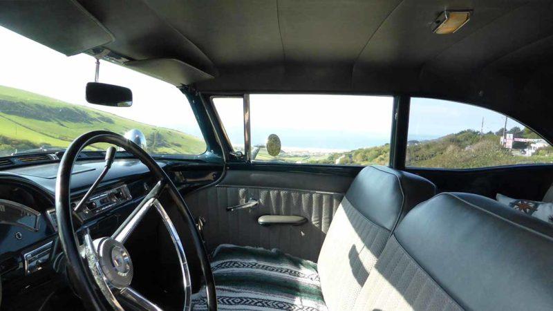 Ford Fairlane wedding car for hire in Barnstaple, North Devon