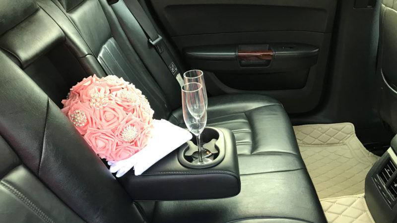 Chrysler 300c Saloon wedding car for hire in Bridgwater, Somerset