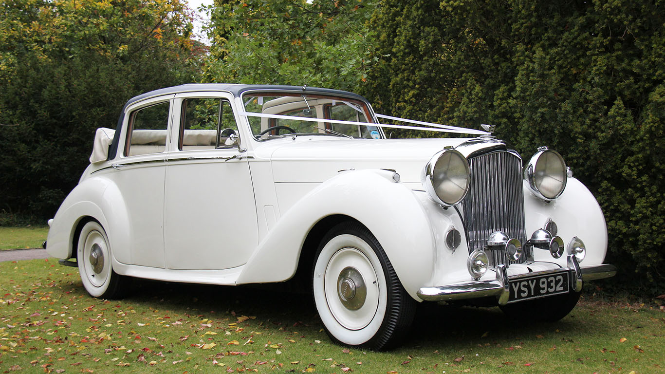 Classic Bentley in our Top 10 Most popular Wedding Cars
