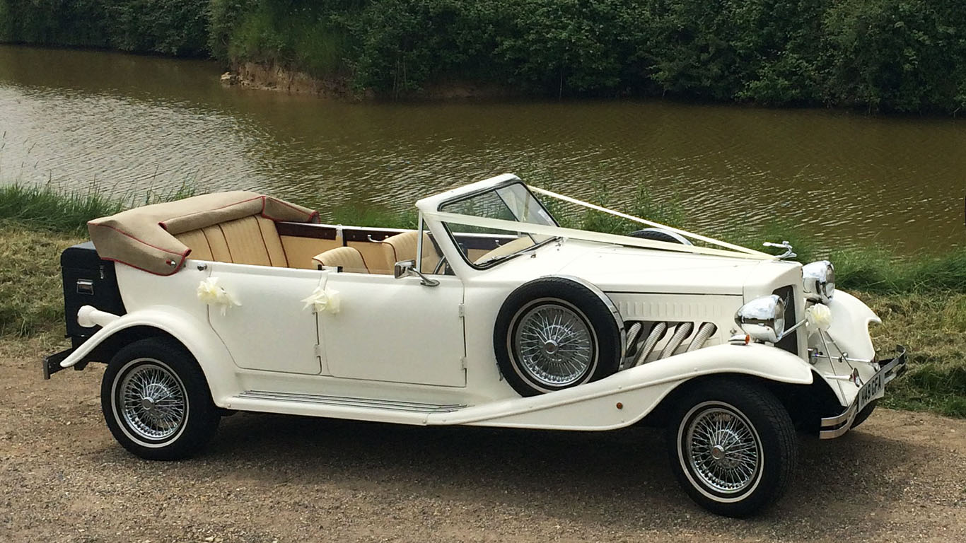 Vintage Style Beauford Wedding Car Hire