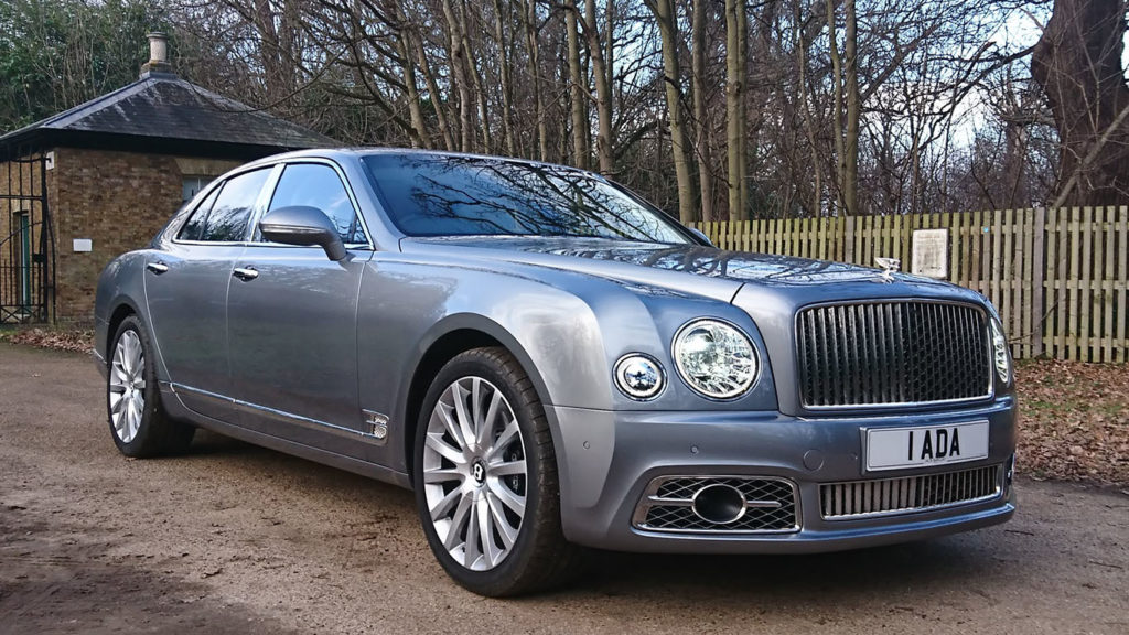 Modern Bentley Mulsanne Wedding Car