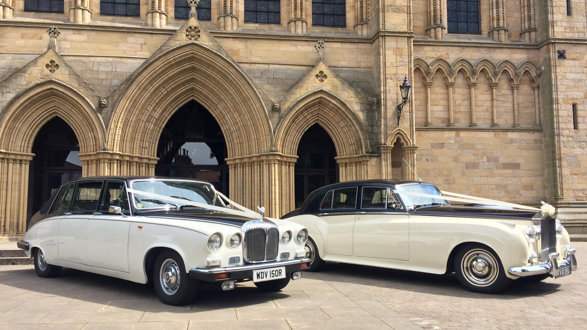 Yorkshire Wedding Car Hire for a Cathedral Wedding