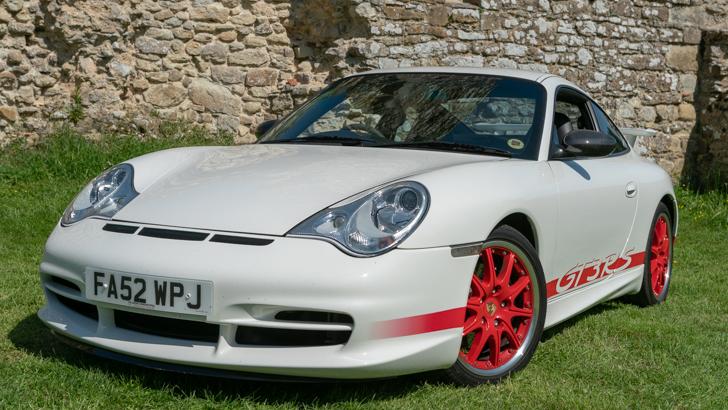 Porsche 911 GT3 RS wedding car for hire in Newton Abbott, Devon
