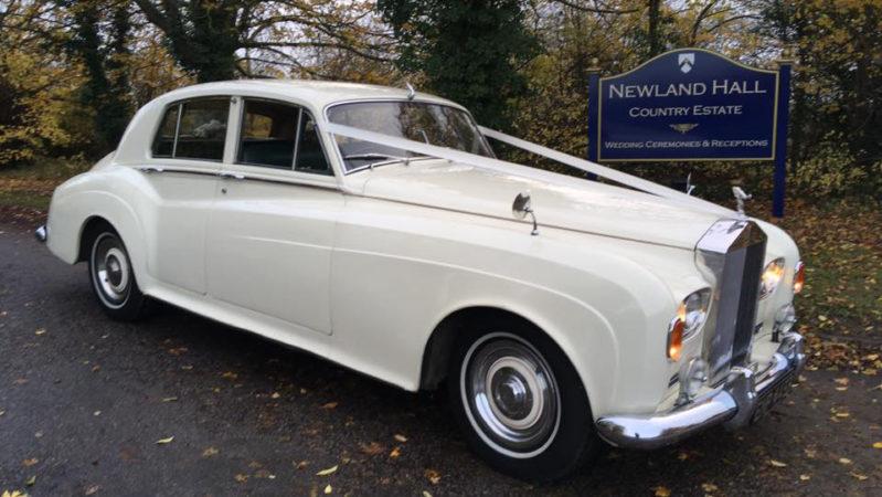 Rolls-Royce Silver Cloud III wedding car for hire in East London