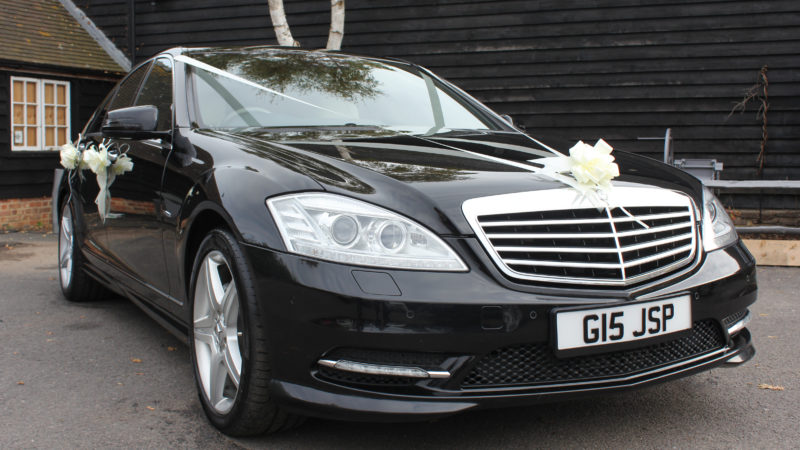 Mercedes 'S' Class AMG wedding car for hire in Faversham, Kent