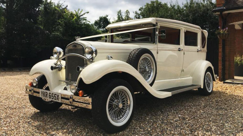 Brenchley Landaulette wedding car for hire in East London