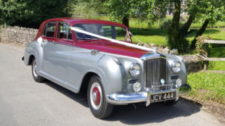 Bentley 'R' Type C20 wedding car for hire in Meshaw, Devon