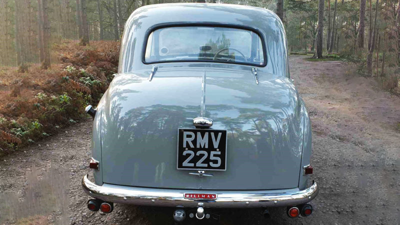 Hillman Minx Mk V wedding car for hire in Reading, Berkshire