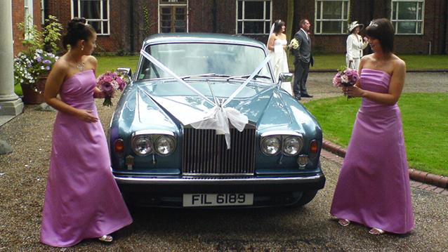 Rolls-Royce Silver Shadow II wedding car for hire in Croydon, Surrey