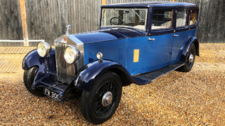 Rolls-Royce 20/25 Limousine wedding car for hire in Lewes, East Sussex