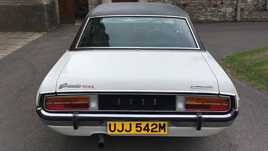 Ford Granada GXL wedding car for hire in Bournemouth. Dorset