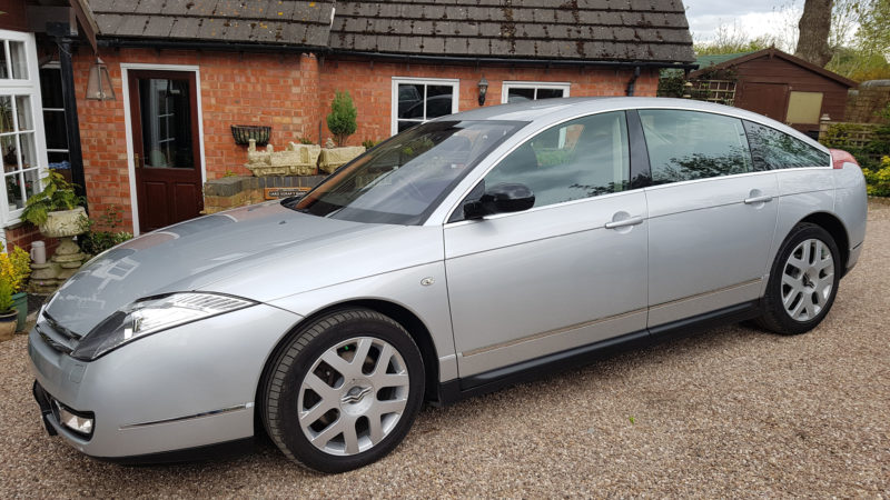 Citroen C6 wedding car for hire in Worcester, Worcestershire