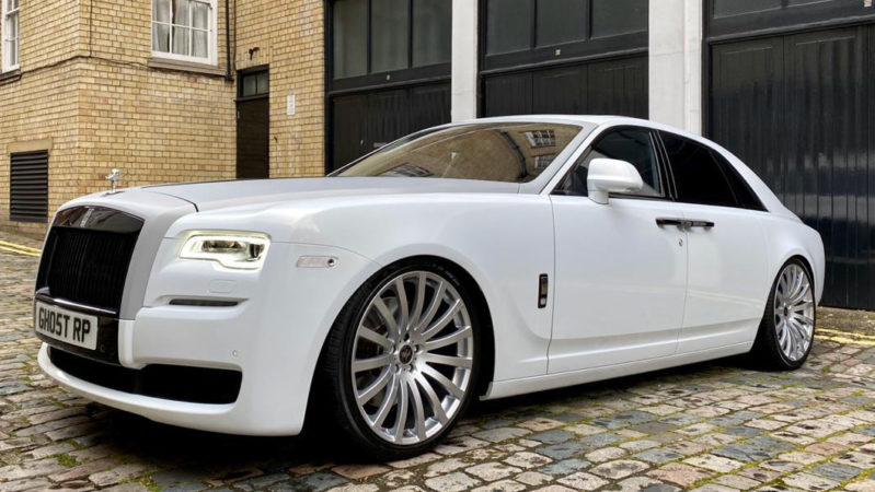 Rolls-Royce Ghost Series II wedding car for hire in West London