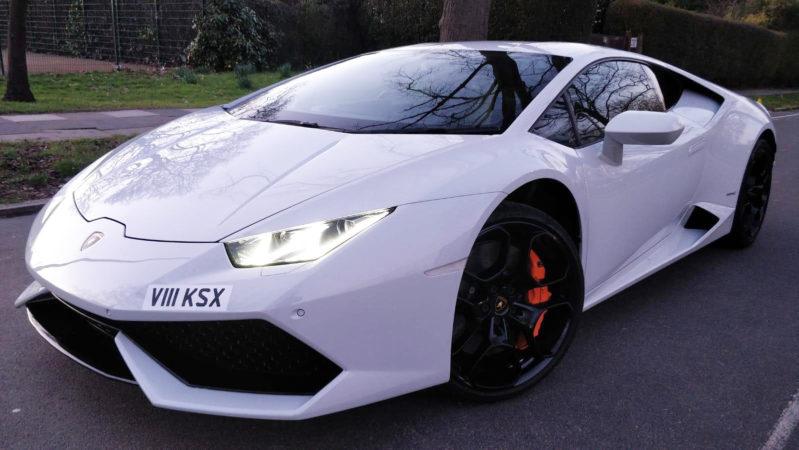 Lamborghini Huracan V10 wedding car for hire in West London