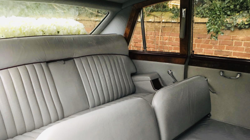Daimler DS420 Limousine wedding car for hire in Leeds, West Yorkshire
