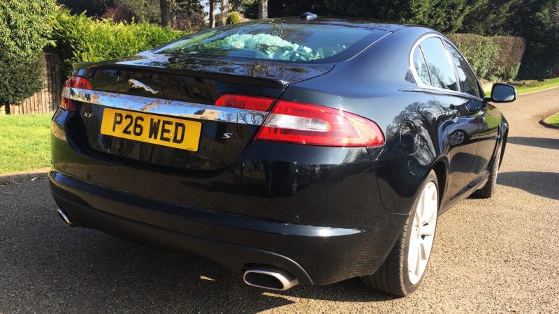 Jaguar XF wedding car for hire in Leeds, West Yorkshire