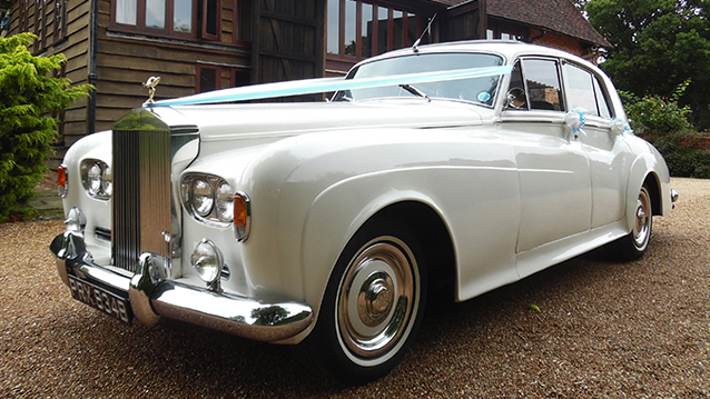 Rolls-Royce Silver Cloud III wedding car for hire in Maidstone, Kent