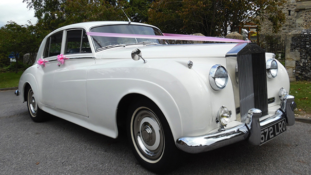 Rolls-Royce Silver Cloud I wedding car for hire in Maidstone, Kent