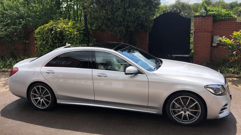 Mercedes 'S' Class AMG wedding car for hire in Purfleet, Essex