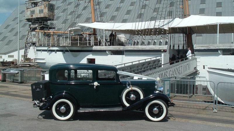 Rockne Studebaker wedding car for hire in Maidstone, Kent