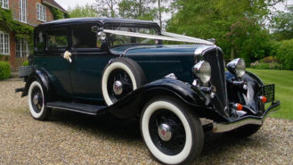 Rockne Studebaker wedding car for hire in Maidstone, Kent