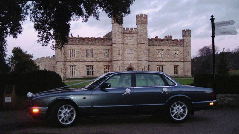 Jaguar XJ6 wedding car for hire in Maidstone, Kent