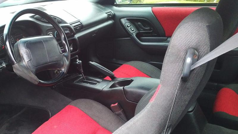 Chevrolet Camaro Z28 wedding car for hire in Cheshunt, Hertfordshire