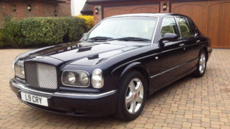 Bentley Arnage wedding car for hire in Sutton, Surrey