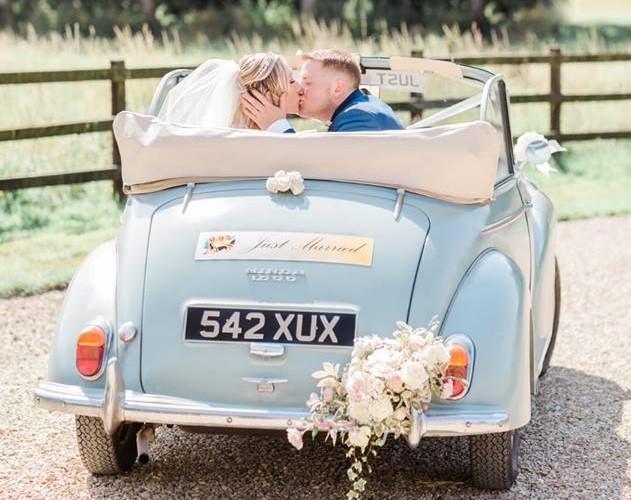 Classic Morris Minor Wedding Transport hire Review Photo