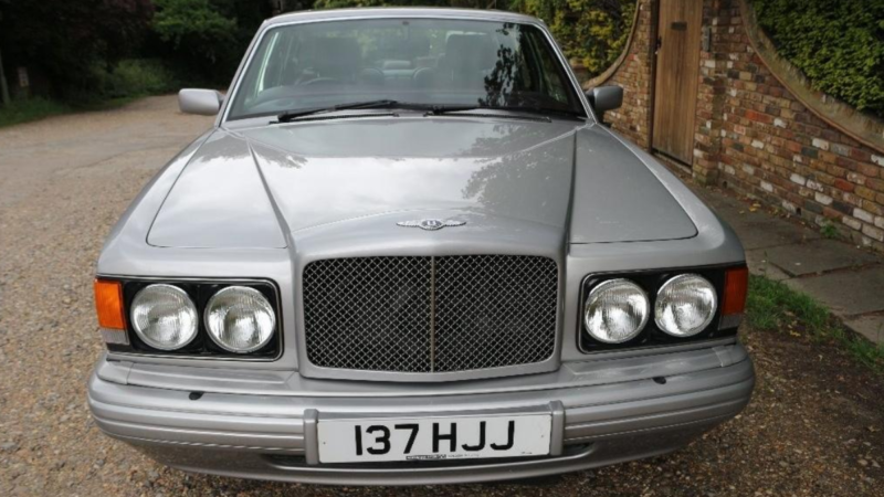 Bentley Brooklands RL Turbo wedding car for hire in Worcester, Worcestershire