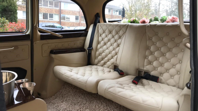 Taxi Cab wedding car for hire in London