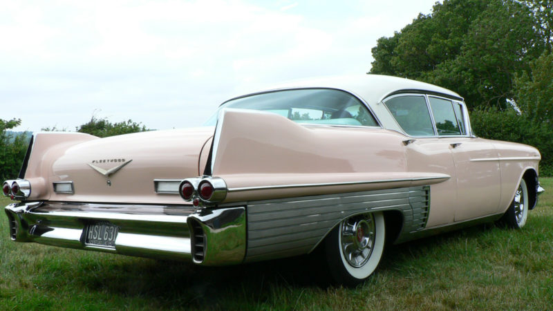 Cadillac Fleetwood Series 60 Special V8 wedding car for hire in Hartfield, East Sussex