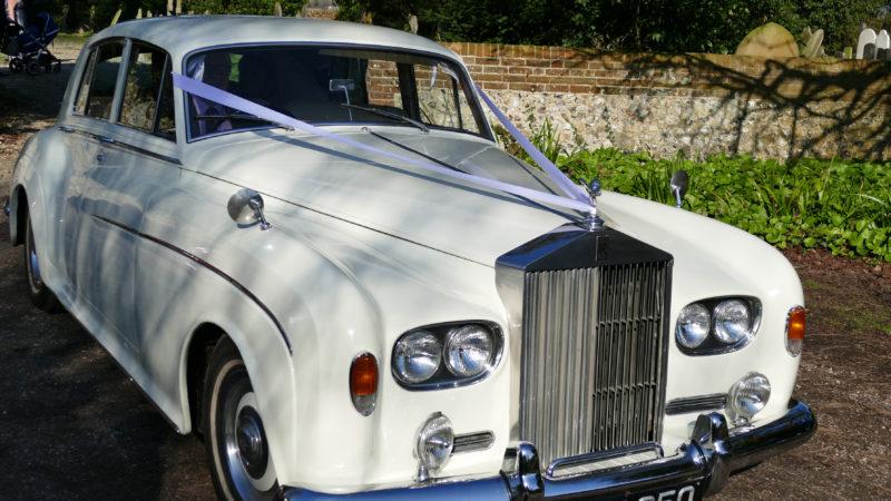 Rolls-Royce Silver Cloud III wedding car for hire in Hartfield, East Sussex