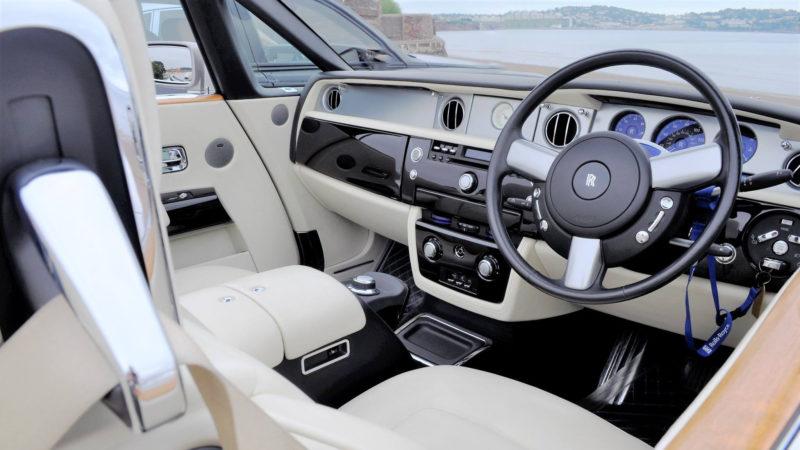 Rolls-Royce Phantom Drophead wedding car for hire in Paignton, Devon