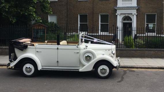 Regent Convertible wedding car for hire in Hemel Hempstead, Hertfordshire