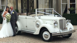 Regent Convertible wedding car for hire in Hemel Hempstead, Hertfordshire