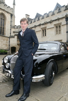 Classic Jaguar which appeared on ITV Television Detective Series 'Endeavour'