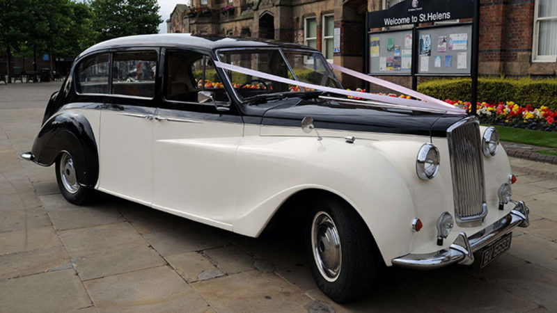 Austin Princess Limousine wedding car for hire in Whitstable, Kent