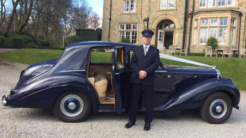 Bentley 'R' Type wedding car for hire in Wakefield, West Yorkshire