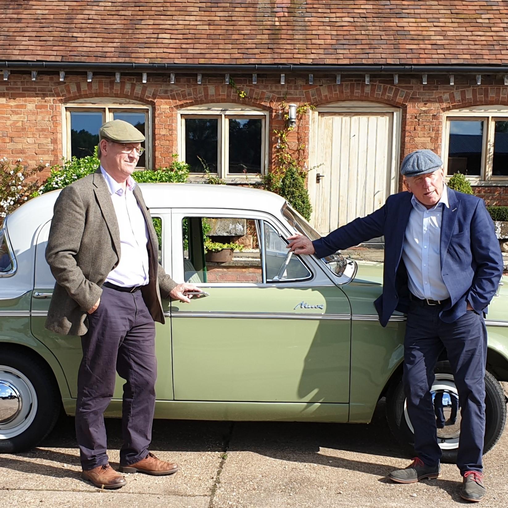 Hillman Minx on Channel 4 Great British Car Journeys