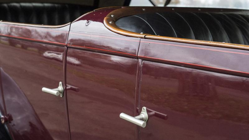 Rolls-Royce Phantom I Tourer wedding car for hire in Cobham, West London