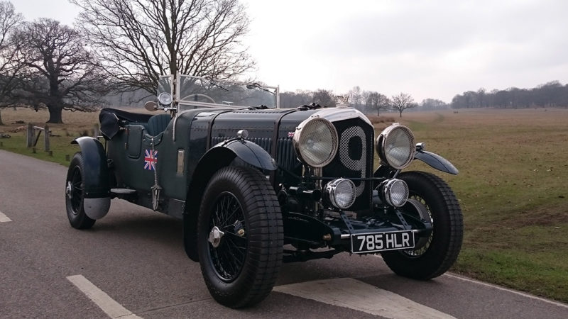 Bentley Forty Special wedding car for hire in Cobham, West London