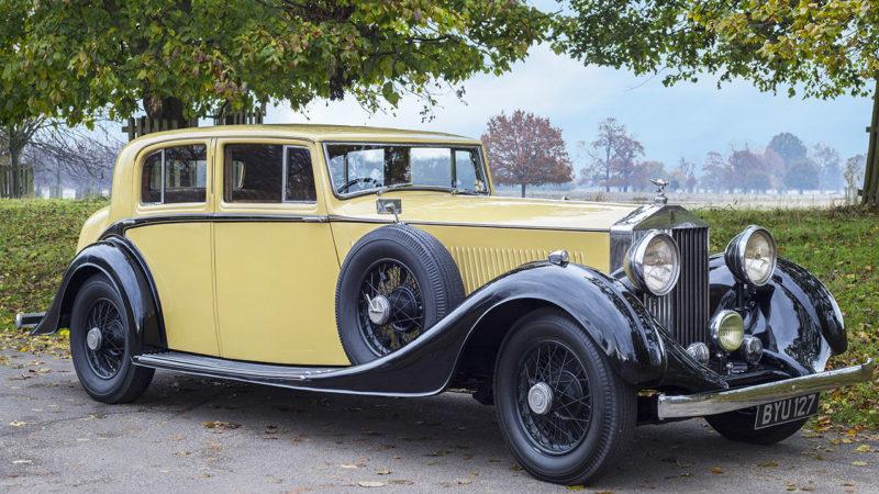 Rolls-Royce Phantom II wedding car for hire in Cobham, West London