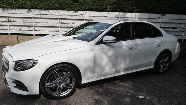 Mercedes 'E' Class AMG wedding car for hire in Huddersfield, West Yorkshire
