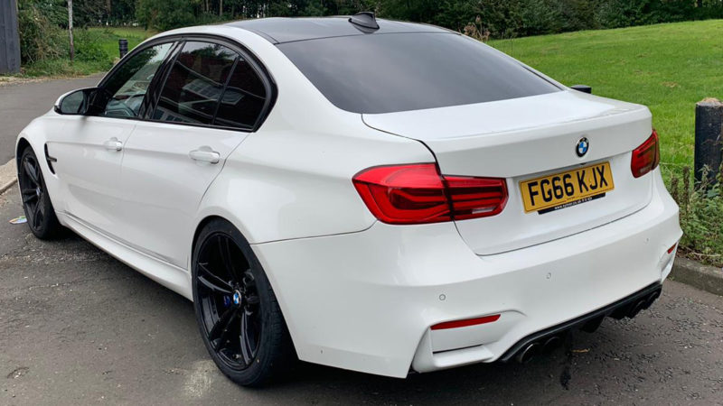 BMW M3 wedding car for hire in Newcastle, Tyne and Wear