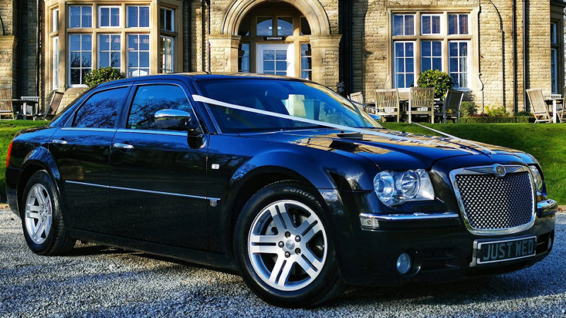 Chrysler 300c wedding car for hire in Leeds, West Yorkshire