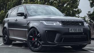 Range Rover Sport SVR V8 wedding car for hire in Milton Keynes, Buckinghamshire