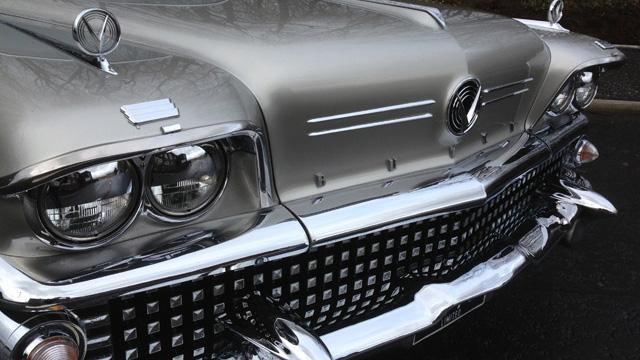 Buick Riviera wedding car for hire in Glasgow, Scotland