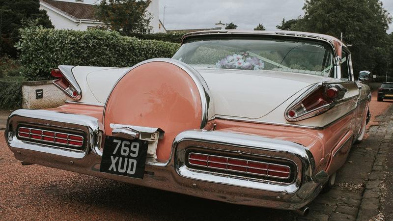 Ford Mercury Montclair wedding car for hire in Glasgow, Scotland